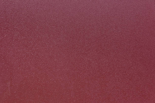 Abstract grained textured background of metal surface painted in brown color stock photo