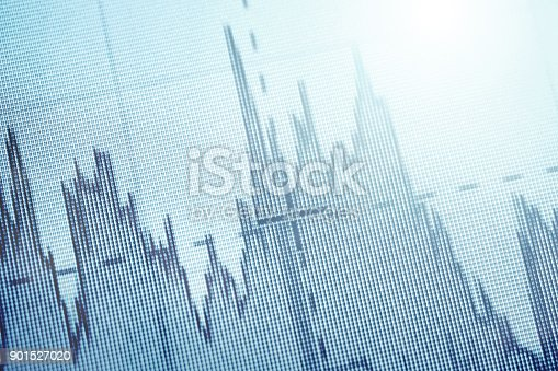 istock Abstract graph 901527020