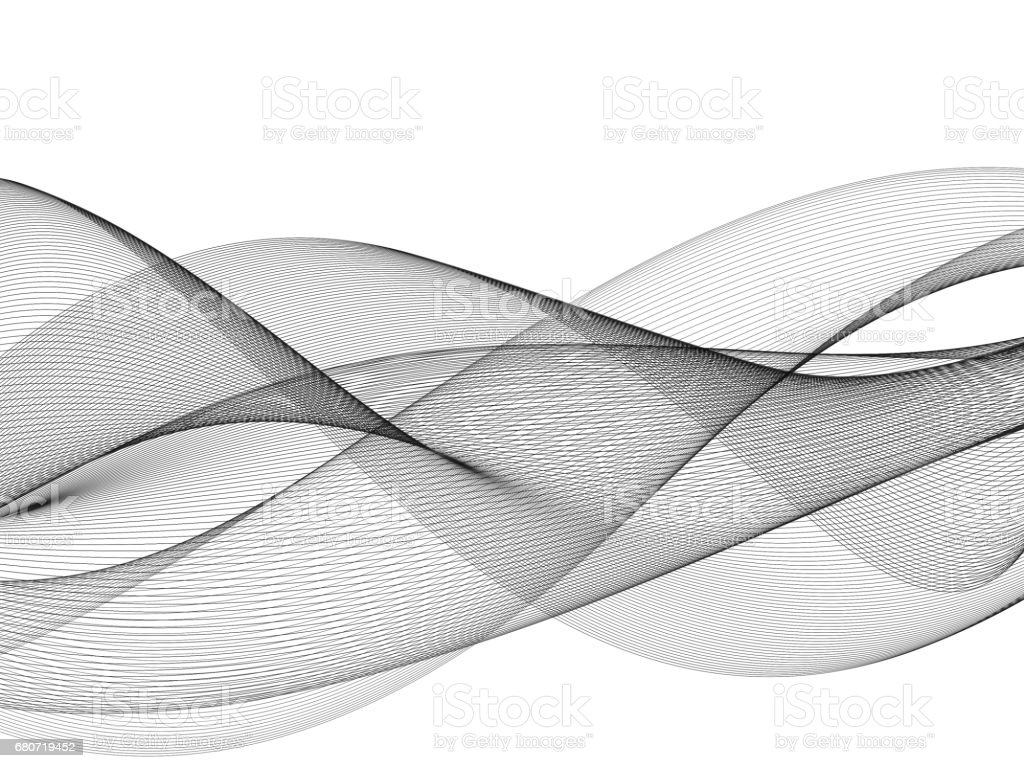 Abstract Graphic Wave Background stock photo