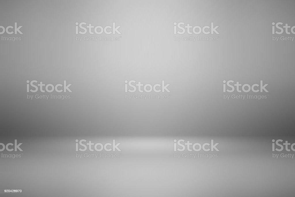 抽象灰色背景空房間用於顯示產品 - 免版稅乾淨圖庫照片