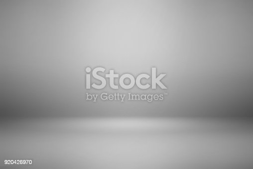 istock abstract gray background empty room use for display product 920426970