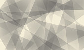 Abstract background with gray polygons