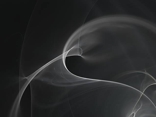 abstract gray silky smoke background stock photo