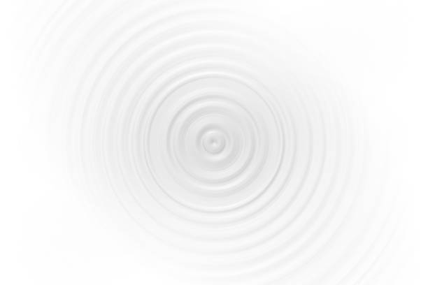 abstract gray vortex on white backdrop, soft background texture - rippled stock pictures, royalty-free photos & images