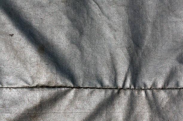abstrakt grau wasserdichtem stoff textur. - planenzelt stock-fotos und bilder