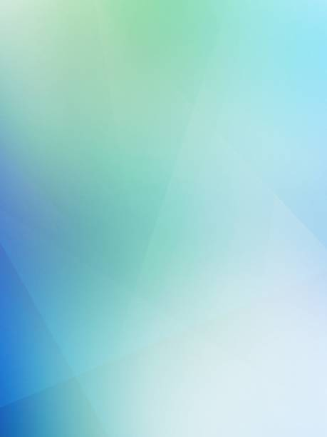Abstract green blue blurred background stock photo