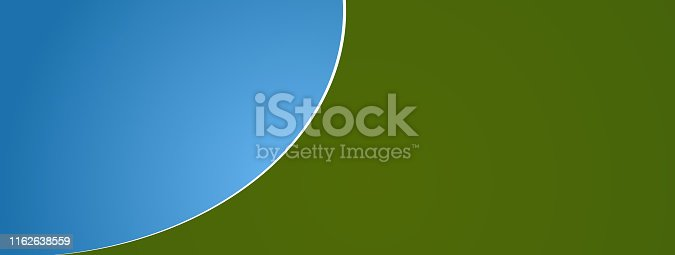 istock abstract green blue rounded background 3d-illustration 1162638559