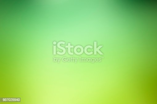 istock Abstract green defocused background - Nature 937025540