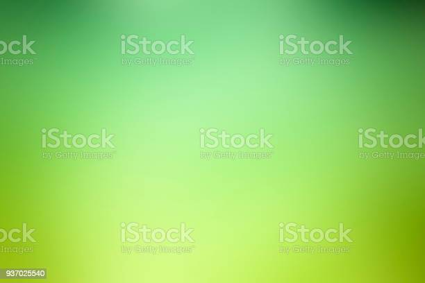 Abstract green defocused background - Nature