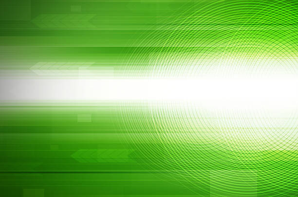 abstract green design hi-tech background. stock photo