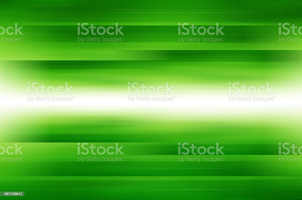 Abstract green lines background. stock photo