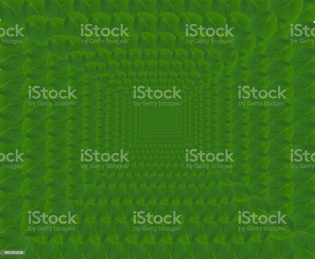 abstracte groene patroon van bladeren royalty free stockfoto