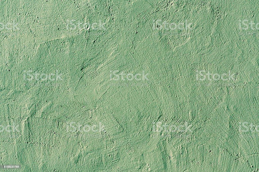 texture de mur de plâtre abstraite verte. - Photo