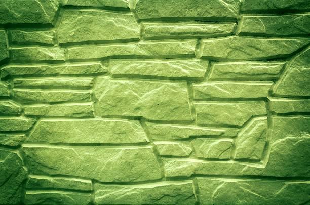 Tło zielony Mur kamienny tle – zdjęcie