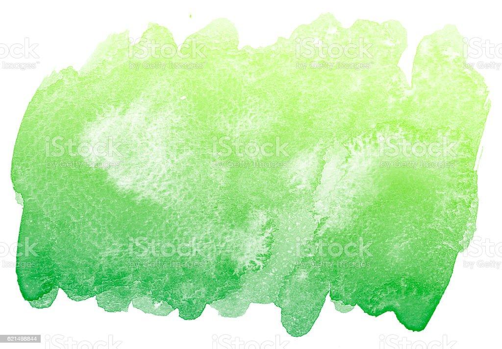 Vert abstrait aquarelle fond. photo libre de droits
