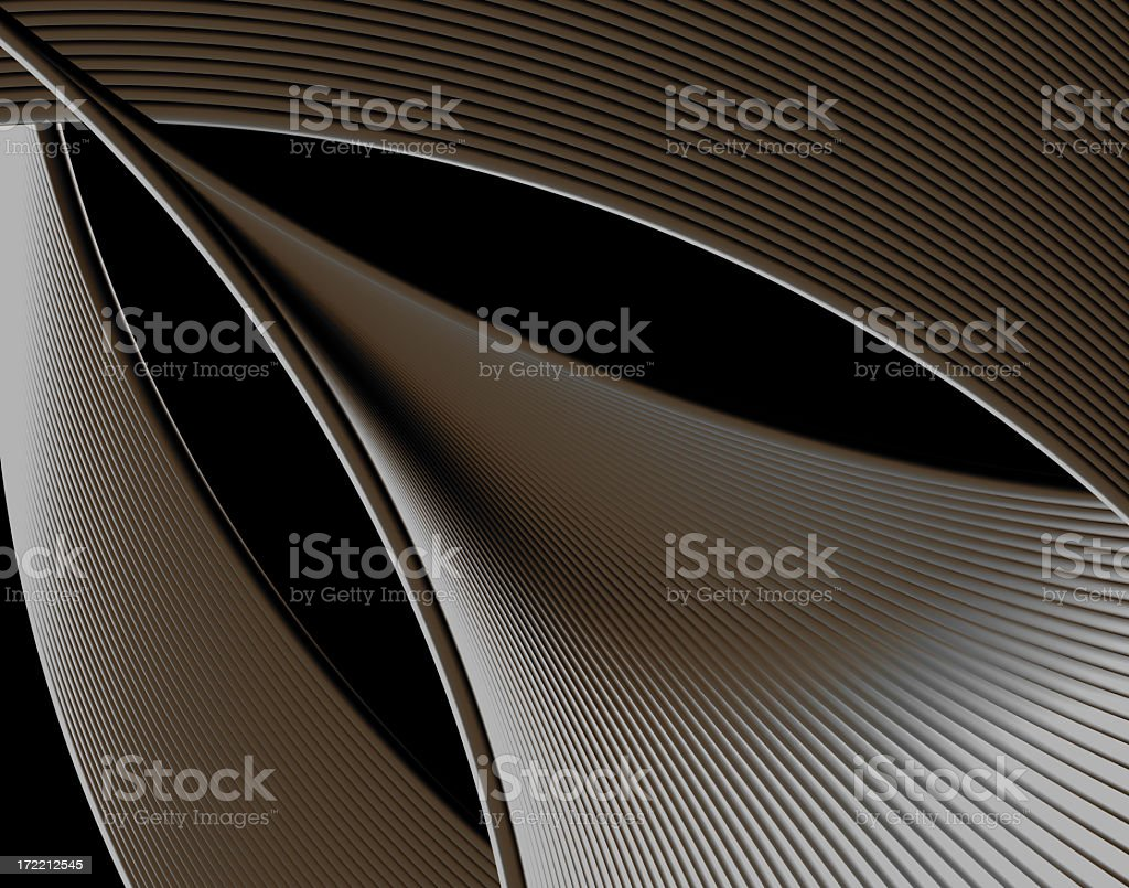 Abstract Grey Dynamic Element 3D (XXLarge) royalty-free stock photo
