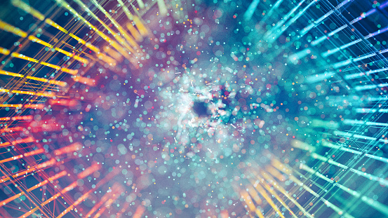 1148091793 istock photo Abstract grid 1148091277