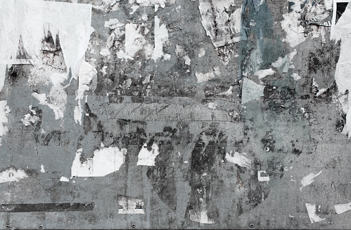 Abstract urban grunge wall street background