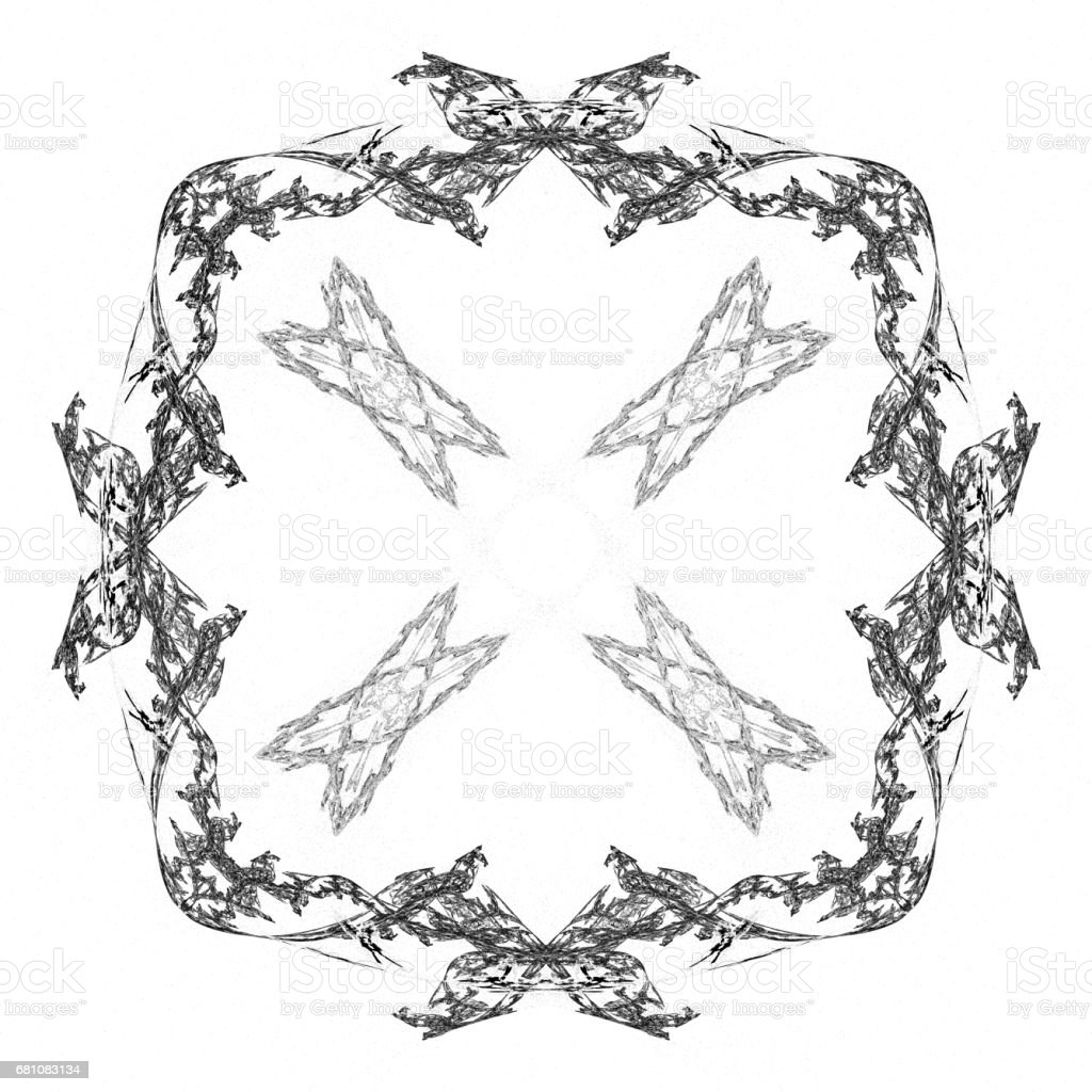 Abstract grunge black isolated pattern royalty-free stock photo