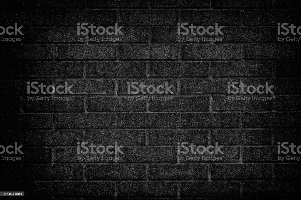 Abstract grunge black wall texture background stock photo