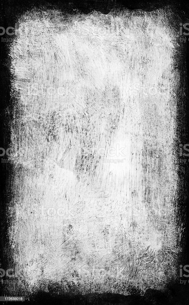 Abstract Grunge Border stock photo