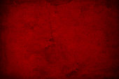 Dark red monochromatic background obtained by shooting close up on old wall surface and color conversion with Photoshop.