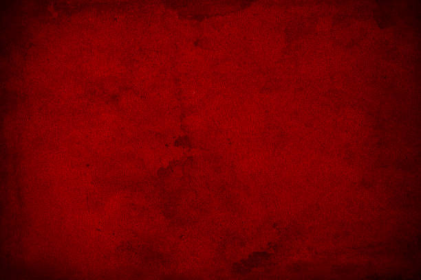 Abstract grunge dark red texture background Dark red monochromatic background obtained by shooting close up on old wall surface and color conversion with Photoshop. eroded stock pictures, royalty-free photos & images