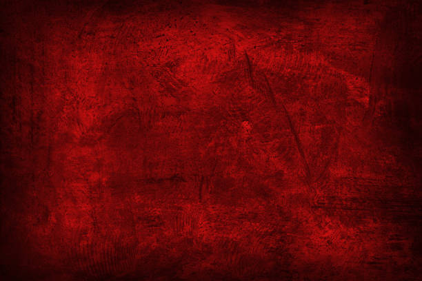 Grunge sombre texture rouge abstrait - Photo