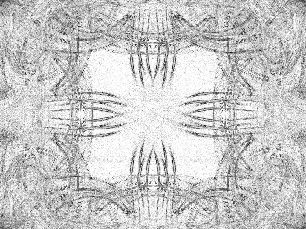 Modèle symétrique noir sale de abstract grunge photo libre de droits