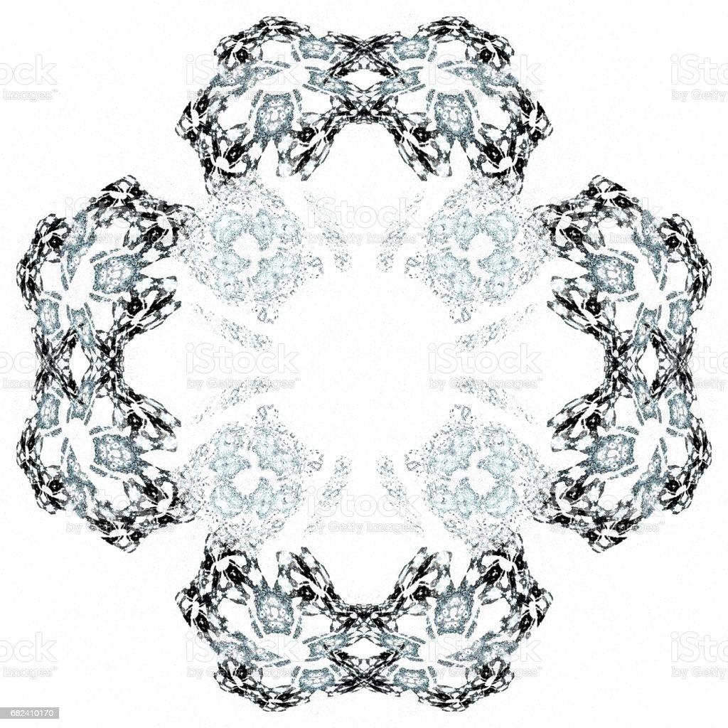 Motif en isolé bleu clair abstract grunge photo libre de droits