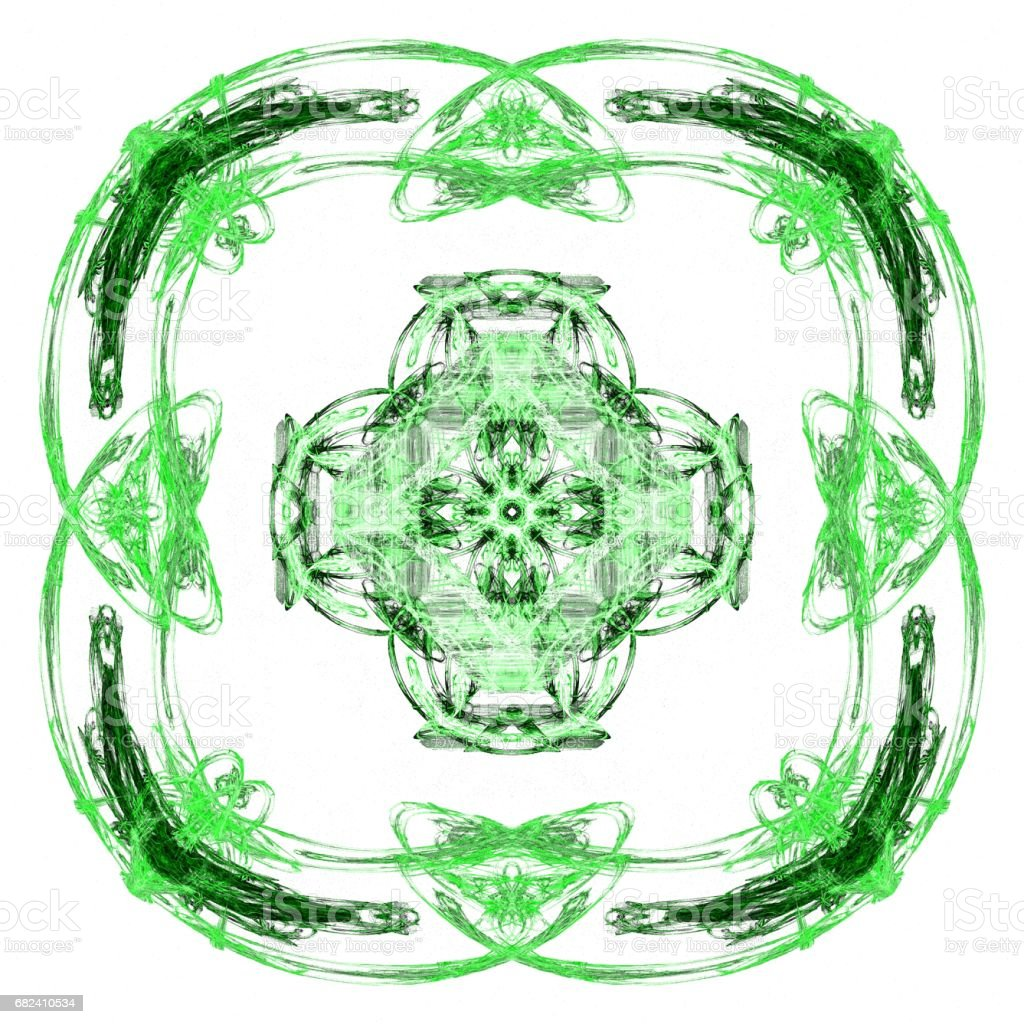 Abstract grunge lime isolated pattern royalty-free stock photo