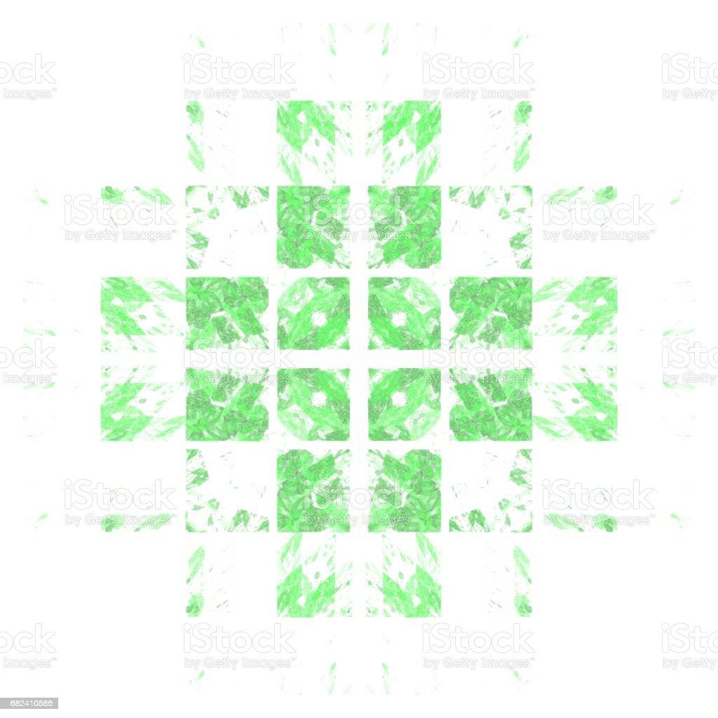 Modèle isolé de chaux abstract grunge photo libre de droits