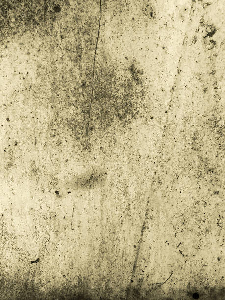 abstract grunge style brown rust on corroded metal surface stock photo