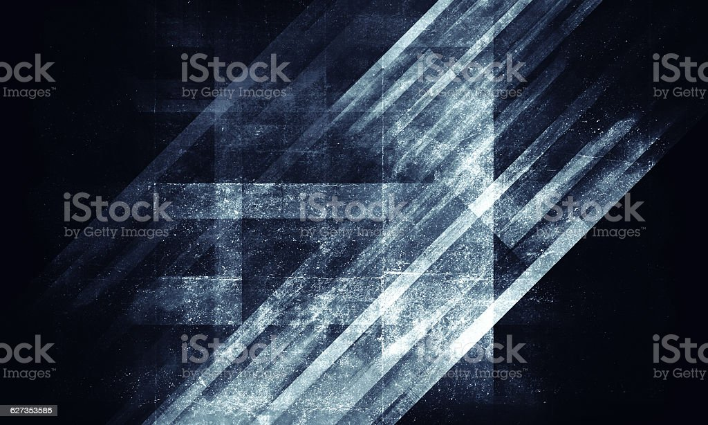 Abstract grungy blue concrete background stock photo