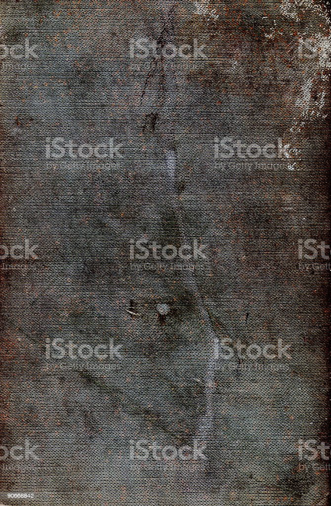Abstract Grungy Book Cover Surface  -  Background stock photo