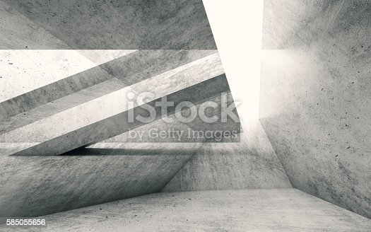 istock Abstract grungy concrete background, concrete 585055656