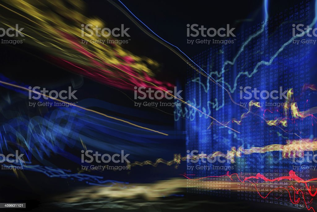 abstract  hacker attack on information dadaserver stock photo