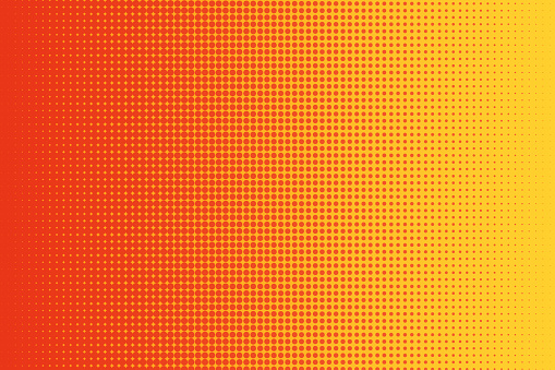 Abstract halftone background. Halftone dots pattern.