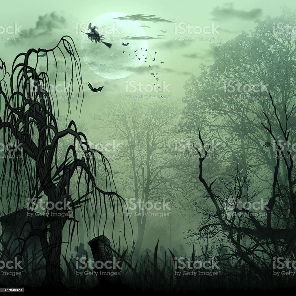 Abstract Halloween backgrounds royalty-free stock photo