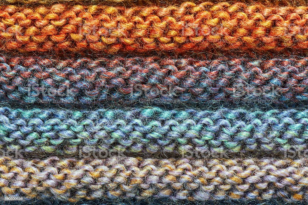 Abstract hand knitted cloth texture royaltyfri bildbanksbilder