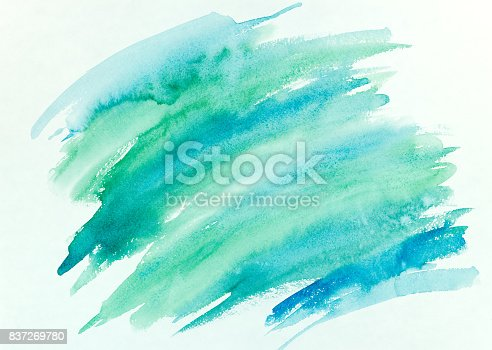 istock abstract hand painted colorful striped watercolor background 837269780