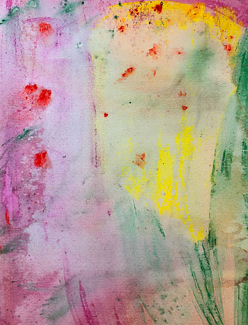 523169768 istock photo Abstract hand painted grunge texture on canvas 1227450232