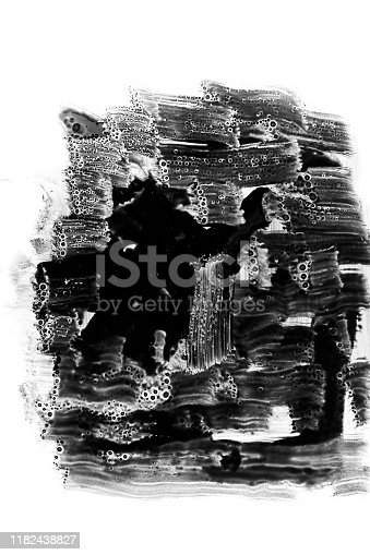 598092096istockphoto Abstract hand painted texture 1182438827