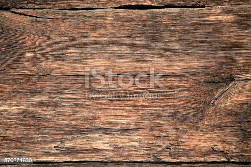 Abstract aged hardwood ideal for backgrounds with lot of space for copy space