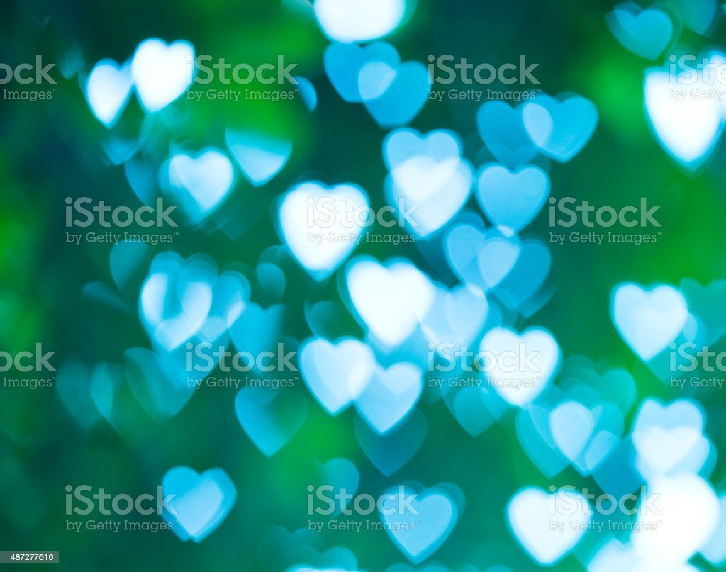 abstract heart background stock photo