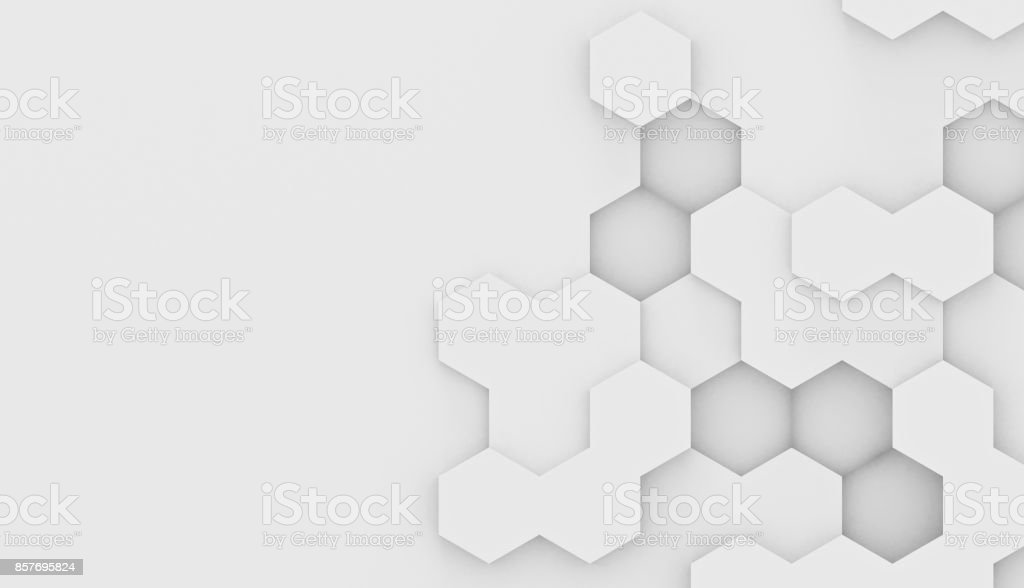 Abstract hexagons stock photo