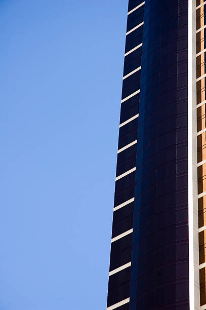 Abstract Highrise Sky stock photo