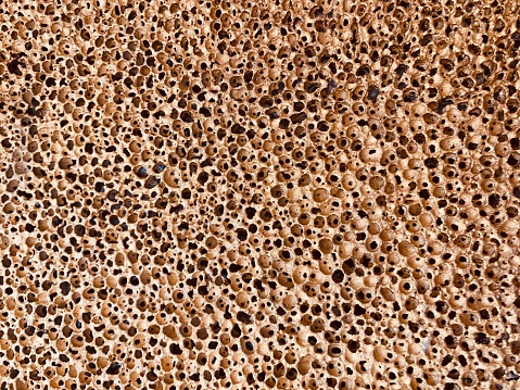 Abstract holes background