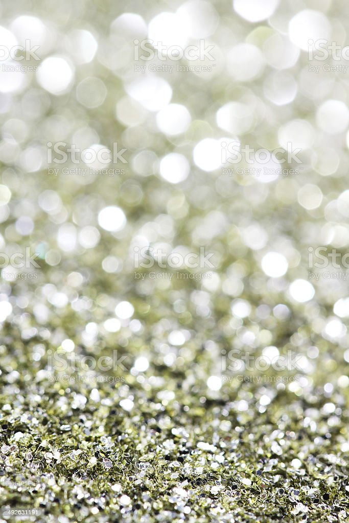 Abstract holidays brass lights on background - vertical royalty-free stock photo