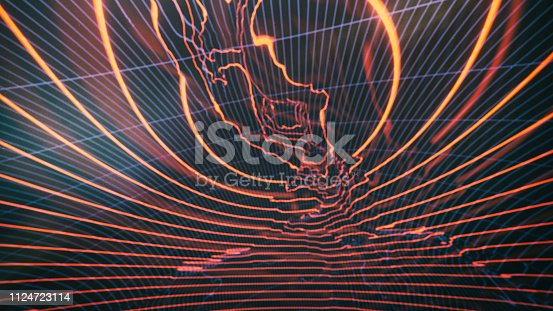 istock Abstract Hologram background 1124723114